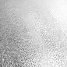 Tapete 10,05 m x 53 cm Muriva Farbe: Silberfarben