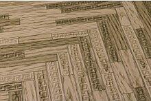 Tapete 10,05 m X 70 cm Versace Home Farbe: Braun
