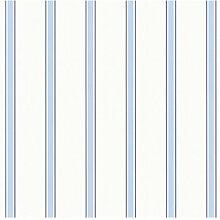 Tapete 10 m x 53 cm Esprit Farbe: Blau/Weiß