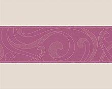 Tapete 1513-46 A.S. Création Tapeten 151346 Schöner Wohnen 2 Female Sense Borte pink ro