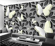 Tapete 3D Blume Hintergrundbild Schlafzimmer