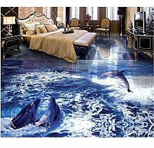 Tapete 3d Bodenbelag für Schlafzimmer Wände