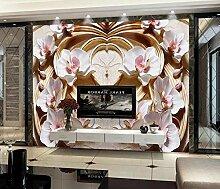 Tapete 3D Fototapete 3D Effekt Schmetterlinge