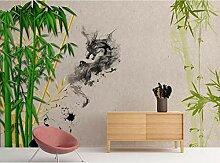 Tapete 3D Fototapete Bambus Tapeten 3D Effekt