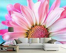 Tapete 3D Fototapete Blütenfarbe Schön Und