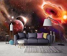 Tapete 3D Fototapete Cooles Sternenhimmel-Galaxie