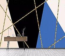 Tapete 3D Fototapete Farbblock Für Geometrische