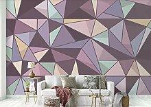 Tapete 3D Fototapete Modernes Geometrisches Muster