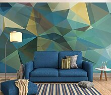 Tapete 3D Fototapete Sofa Mit Geometrischem Muster