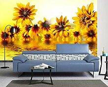 Tapete 3D Fototapete Verträumte Sonnenblume