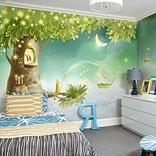 Tapete 3D Fototapete Wallpaper tv bedroom mädchen