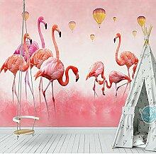 Tapete 3D FototapeteNordic Flamingo Tapete