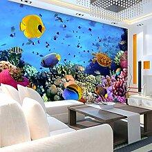 Tapete 3d für kinderzimmer unterwasserwelt