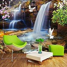 Tapete 3D für Wände rollen Wasserfall