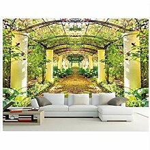 Tapete 3d moderne Raumtapete Schöner Garten Eden