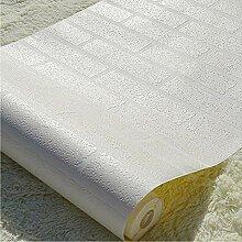 Tapete 3D Pure Whites Brick Designer Strukturier