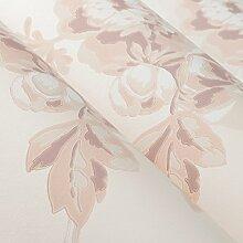 Tapete/3D Stereo-Tapeten/kontinentalen pastorale Vlies-Tapete/Teppichboden Pastell Tinte die Schlafzimmer-Tapete-A