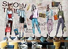 Tapete 3d Wallpaper Mode handbemalte