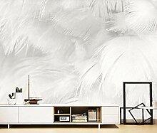 Tapete 3D Wandbild Abstrakte Reine Weiße Schöne