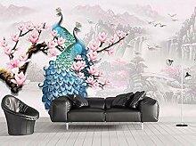 Tapete 3D Wandbild Chinesisches Geprägtes