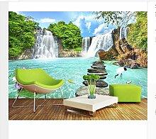 Tapete 3D Wandbild Für Wohnzimmer Landschaft