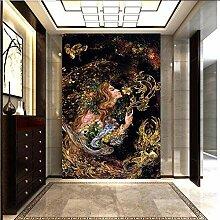 Tapete 3d Wandbild Garten Malerei Wohnzimmer