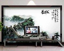Tapete 3D Wandbild Jufu-Chinesische Mauer
