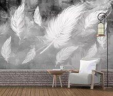 Tapete 3D Wandbild Moderne Minimalistische Weiße