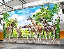 Tapete 3D Wandbilder Chinesische Art Der