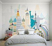Tapete 3D Wandbilder Kinder Schlafzimmer