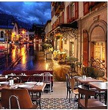 Tapete aus, italienische Stadt Tapete für
