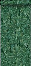 Tapete Bananenblätter Emeraldgrün - 139016 - von