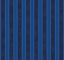Tapete Barocco and Stripes - kobaltblau -