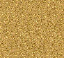 Tapete Barocco Flowers - goldfarben - gelb - fein