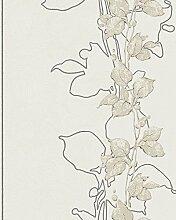 Tapete Beige Floral - Modern, Natur, Romantisch -