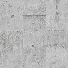Tapete Beton Ziegeloptik 1.9m x 288cm Eowyn