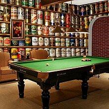 Tapete Bier Cafe Billard Hall Bar Moderne Wanddeko