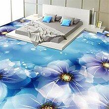 Tapete Boden Fantastische Blume Badezimmer