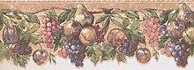 Tapete Bordüre Früchte DES19504