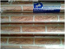 Tapete Brancaccio–Tapete PS + International 9136–40Steinoptik aus Papier A Relief