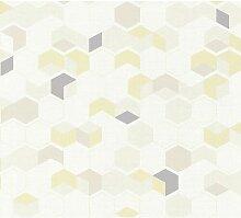 Tapete Brynn 10,05 m X 53 cm Isabelline Farbe:
