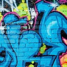 Tapete Colours of Graffiti 2.4m L x 240cm B