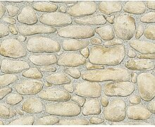 Tapete Dekora Natur 1005 cm x 53 cm, Beige/Grau