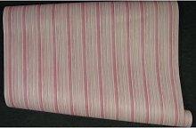 Tapete Design Streifen gestreift rosa