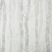 Tapete Dorland 10 m x 52 cm Sommerallee Farbe: Grau