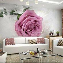 Tapete Europäischen Stil Romantische Blume 3D