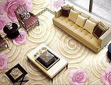 Tapete Europea 3D Flooring Rose Bodenfliesen