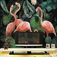 Tapete Experten 3dthe Seamless-Flamingo