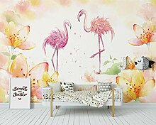 Tapete Flamingo Tropischen Regenwald Tropischen