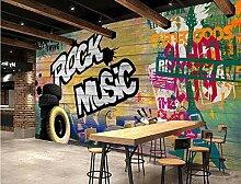 Tapete Fototapete 3D Diy Graffiti Der Modernen